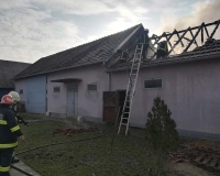 Pozar pomocne prostorije Antunovac 09.02.2018 (1)