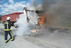 Pozar kamiona Antunovac